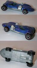Redline Hotwheels Blue Enamel 1973 Twinmill