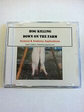 Hog Killing Down on the Farm - Science and Anatomy Applications DVD Video