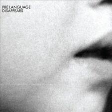 Pre Language [Digipak] by Disappears (CD, Feb-2012, Kranky)
