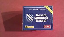 Panini Kassel sammelt Kassel Display - 50 Tüten - 250 Sticker OVP