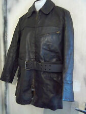 VINTAGE WW2 HORSEHIDE LEATHER FLYING DISPATCH RIDERS JACKET SIZE L