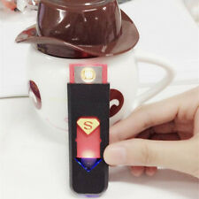 USB Cigarette Cigar Electronic Lighter Rechargeable Flameless Windproof Creative