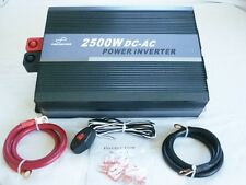 2500W 12V Pure Sine Wave Power Inverter with Remote Control & USB