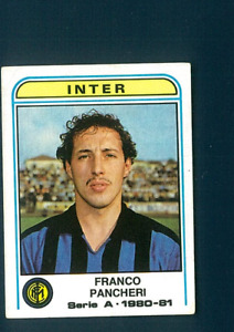Figurina Calciatori Panini 1980-81! N.187! Pancheri! Inter! Nuova!!