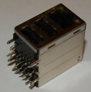 Asus USB LAN LED Combo Sockel Buchse Buchsen Löten DIY Mainboard Motherboard