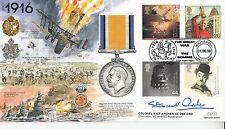 JS(Mil)7 Somme 83rd Anniversary Cover depicts 1916 Colonel B S T Archer  GC