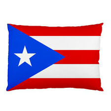 """Puerto Rico Flag pillow case 30"""" x 20"""" two side cover free shipping"""