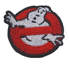 GHOSTBUSTERS NO GHOST MURRAY HALLOWEEN COSTUME RED OPS WHITE MORALE PATCH BADGE