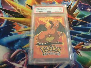 1999 Pokemon Card Topps Charizard #6 PSA 7 NR MINT
