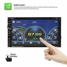Double DVD Head Unit Radio 2 Din 7'' Car GPS NAV CD MP5 MP3 Player FM TV 16230_1