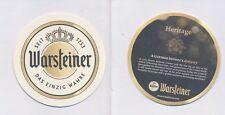 1 WARSTEIN - WARSTEINER  (EXPORT) BIERDECKEL BEERCOASTERS  (19221)