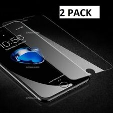 2 PACK Apple iPhone 8 Plus Tempered Crystal Clear Glass Screen Protector GLASS