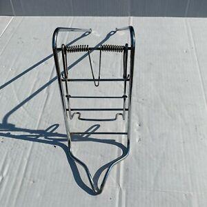 """Vintage Bicycle- Schwinn Debutante- Front Chrome Rack """"Rat Trap"""" style"""