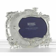 Hey Diddle Diddle Frame New Baby Christening Silver Shudehill Gift Novelty Photo