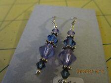 SWAROVSKI crystal beads bead beaded hook dangle earrings c