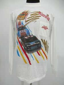 M0726 VTG NASCAR Winston Cup Series 1992 Dale Earnhardt Goodwrench T-Shirt  XL