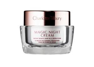 CHARLOTTE TILBURY Charlotte's Magic NIGHT Cream 15ml /0. 5oz Free CT Sample