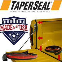 TAILGATE SEAL ~ Taper Seal® ~ UTE RUBBER DUST TAIL GATE SEAL KIT MADE IN USA