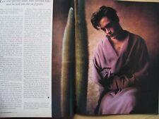 American Photographer Magazine 1989 ROBERT DOWNEY JR Elle Macpherson R Williams