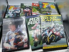 More details for 7 x motorcycle racing dvd's 4 x tt 2 x review 1 x jeffries