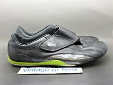 Men's Lacoste Shua Strap UB SPM Black Lime Green White Casual Shoes sz 13