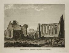 FRANCISCAN ABBEY, CASHEL, TIPPERARY, IRELAND, Rare 1792 Antique Engraving Print
