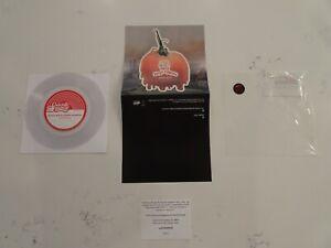 NM UNPLAYED! Black Moth Super Rainbow Zodiac Girls 45 7 CLEAR VINYL-HYPE-DL CARD