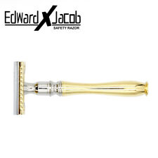 EXJ - Heavy Duty Double Edge Clean and Perfect Safety Razor + 5 Premium Blades