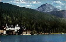 Achenkirch Achensee Österreich Tirol AK ~1930 Hotel Scholastica Scholastika See