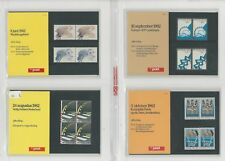 Netherlands Davo PTT Album, Mint NH Stamps & Sets, 18 Hingless Pages, 1982-86