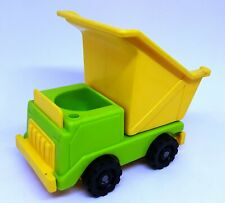 VEHICULE VINTAGE FISHER PRICE TOYS - CAMION BENNE
