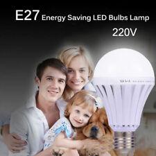 Energy Saving E27 LED Intelligent Emergency Bulb Lamp Indoor Light 5/7/9/12/18W