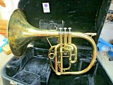 Holton Marching Mellophone, M601, Plays Well.