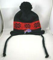 NFL Buffalo Bills Team Hat Winter Knit Beanie Cap with Ear Flaps