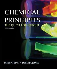 Chemical Principles by Peter Atkins and Loretta Jones (2009, Hardcover)