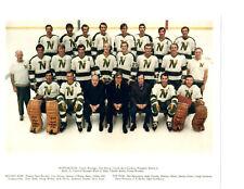 1971 1972 MINNESOTA NORTH STARS 8X10 TEAM PHOTO HOCKEY NHL