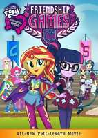 New: MY LITTLE PONY EQUESTRIA GIRLS- Friendship Games DVD