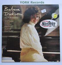BARBARA DICKSON - All For A Song - Ex Con LP Record Epic 463002 1
