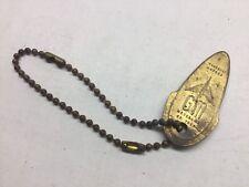 General Motors GM Motorama Of 1956 Gold Tone Key Chain
