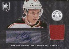 MIKAEL GRANLUND 2013-14 Panini Totally Certified Autograph Jersey Rookie #205