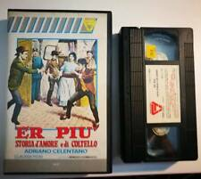 VHS - ER PIU' - STORIA D'AMORE E DI COLTELLO di Bruno Corbucci  [CREAZIONI]