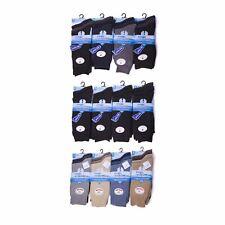 Calcetines para Hombre Pie Grande Algodón Mezcla De Lycra Oficina Traje Ropa De Trabajo Calcetín pies grandes 11-14