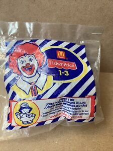 2003 McDonald's Happy Meal Toy Fisher Price Little People - Worker Girl - Sealed
