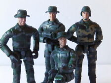 "World Peacekeepers 1:18 3.75"" Scale Millitary Action Figures ~ Lot of 4"