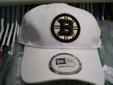 Boston Bruins White Hat