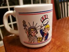 MUG - Campbell Soup Company - Fourth of July Salute  America Red White Blue