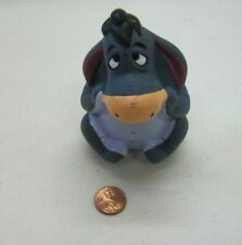 "EEYORE DONKEY WINNIE THE POOH 4"" Cake Topper Figure Toy 100 Acre Woods Disney"