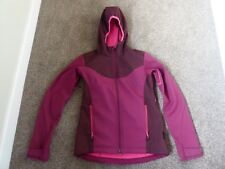 Jack Wolfskin Ladies Softshell Jacket Fleece lined UK 8 Excellent Condition