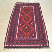 6'5 x 3'2 Handmade Afghan Tribal Kilim Wool Area Rug Floor Kelim Carpet #3734