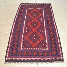 6'5 x 3'2 Handmade Afghan Tribal Kilim Wool Area Rug Floor Kelim Carpet #3734
